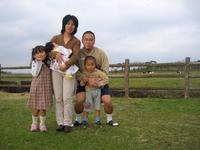 初家族5人写真