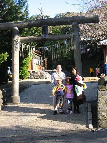 大島七ヶ村初詣(元町・吉谷神社)