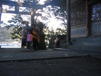 大島七ヶ村初詣(波浮・波布比咩命神社)