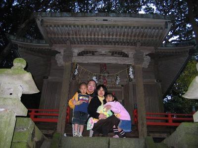 大島七ヶ村初詣(岡田・八幡神社)